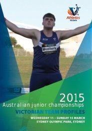 2015-Australian-Junior-Championships-Big-V-Team