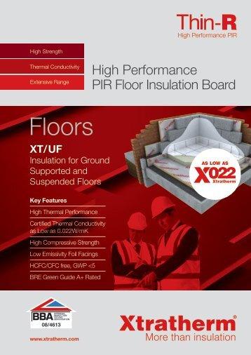 Floors - Xtratherm