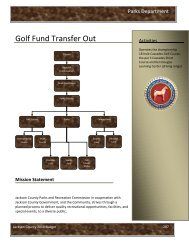 Golf Course - Transfer Out - Jackson County, Michigan