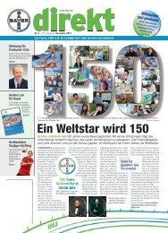 Ein Weltstar wird 150 - Bnc.bayer.com