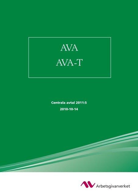 AVA AVA-T 110509 - Arbetsgivarverket
