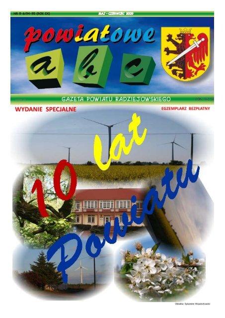 Powiatowe ABC... Maj-Czerwiec 2009 - Powiat Radziejowski
