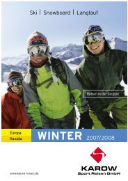 Ski|Snowboard|Langlauf WINTER 2007/2008