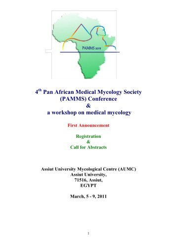 4 Pan African Medical Mycology Society (PAMMS ... - ISHAM