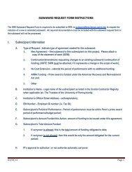 Instructions - University of Pennsylvania