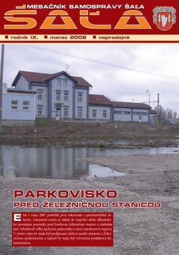 na stiahnutie (pdf - 1.7 MB) - Mesto Šaľa