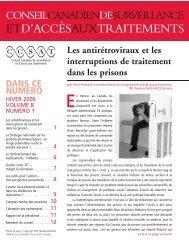 Fevrier - Canadian Treatment Action Council