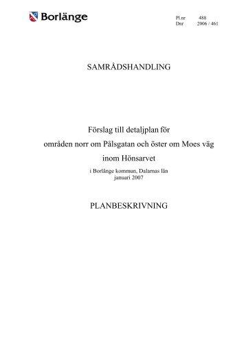 PROGRAM - Borlänge kommun