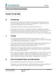 PA 5531 ITV og VMD - Statsbygg