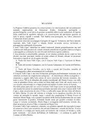 Istituzione del Parco naturale delle Valli Cupe - Consiglio regionale ...