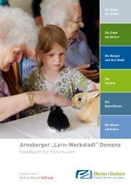 """Arnsberger """"Lern-Werkstadt"""" Demenz - Projekt Demenz Arnsberg"""