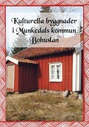 Kulturella byggnader - Munkedals kommun