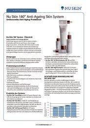 Nu Skin 180°® Anti-Ageing Skin System