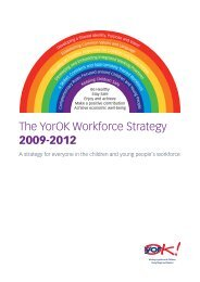 The YorOK Workforce Strategy 2009-2012