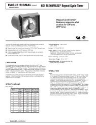 HG1 FLEXOPULSE® Repeat Cycle Timer - Federal Industrial Sales