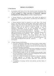 Planning Application - Design Statement - Library/Limerick Studies