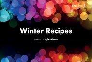 Winter Recipes - Porter Novelli