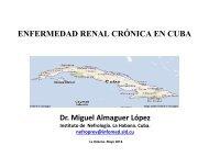 Enfermedad Renal Cronica en Cuba.