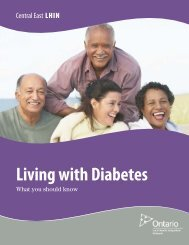 Living With Diabetes –What you should know - Central East Local ...