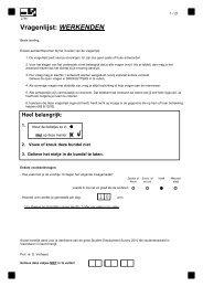 vragenlijst studentenarbeid WER - HUBRUSSEL.net