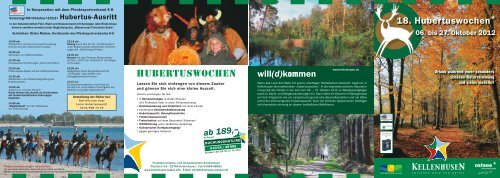 18. Hubertuswochen*