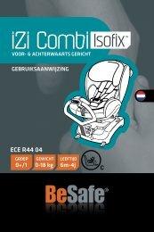 BeSafe Combi ISOfix handleiding - Kindveiligvooruit