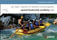 xpand leadership academy (xla) - xpand international
