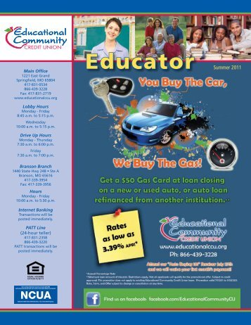 Educator - Educational Community Credit Union