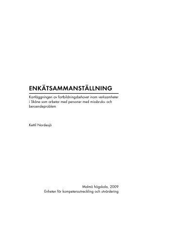 Enkätsammanställning fortbildningsbehov.pdf - Kommunförbundet ...