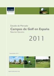 Estudio de Mercado del Golf en España de - Real Federación ...