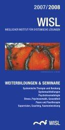 Weiterbildungen & Seminare - Wieslocher Institut für systemische ...