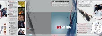 Company Profile - sictra.it