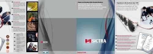 Company Profile - sictra.it