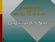 ATV laws and Regulations - New Mexico Game and Fish