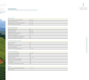 Contents - Kenya Power
