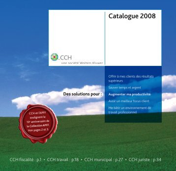 Catalogue 2008