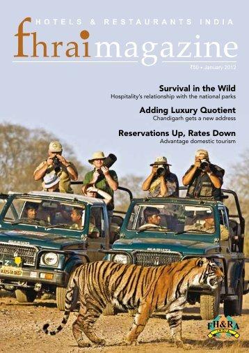 FHRAI Magazine : Jan 2012 Issue - Federation of Hotel and ...