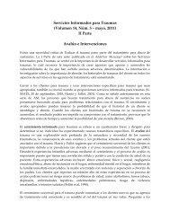 Servicios Informados para Traumas (Volumen ... - the ATTC Network