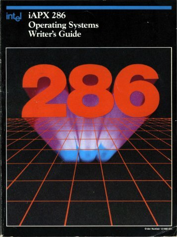 iAPX 286 Operating System Writers Guide 1983