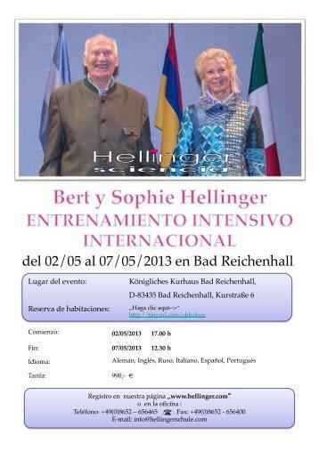 del 02/05 al 07/05/2013 en Bad Reichenhall - Hellinger.com