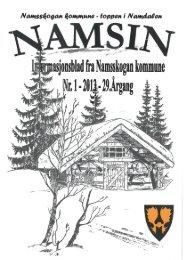 1 - Namsskogan kommune
