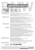 X5 xDrive50iA Edition Exclusive - BMW Garantía y Mantenimiento ... - Page 2