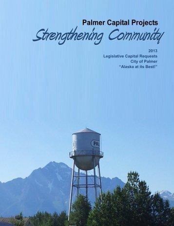 2013 Capital Projects - City of Palmer, Alaska