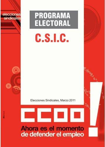 Programa CSIC.pmd - sac.csic.es