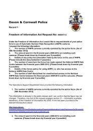 Document 1: 69.0 Kb - Devon & Cornwall Police