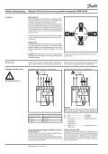 Napędy elektryczne sterowane sygnałem analogowym ... - Danfoss - Page 2