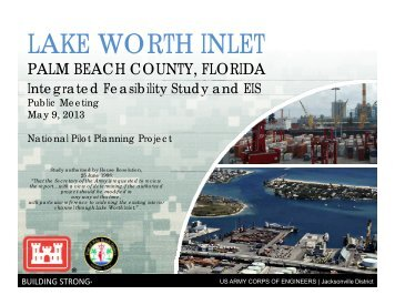 Public Meeting: Integrated Feasibility Study & EIS (May 2013)