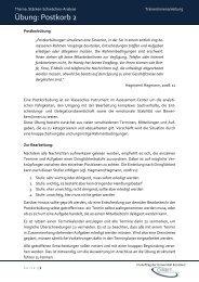 TrainerInnenanleitung Postkorb2x - Familie in der Hochschule