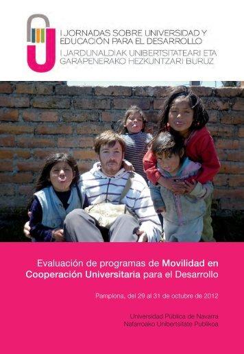 Educación para el Desarrollo - Universidad Pública de Navarra