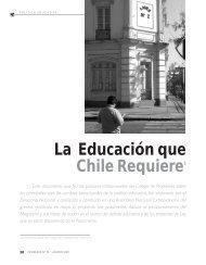 La educación que Chile Requiere - Revista Docencia